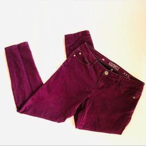 Celebrity Pink Jeans in Purple